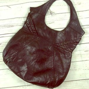 Lucky Brand Black Leather Hand Bag Purse